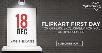 (Live) Flipkart First Day Exclusive Offers on 18th December'14