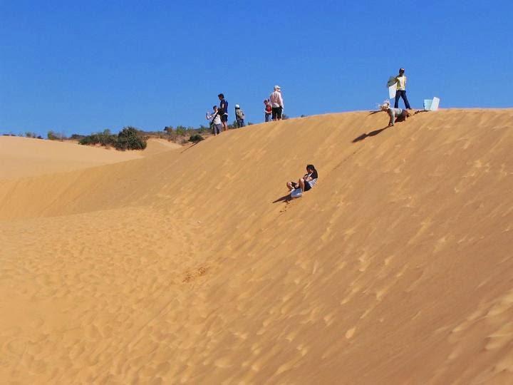trượt cát đồi cát bay