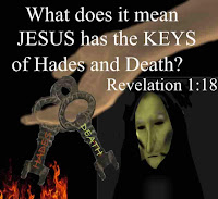What does it mean that Jesus has the keys of Hades and Death