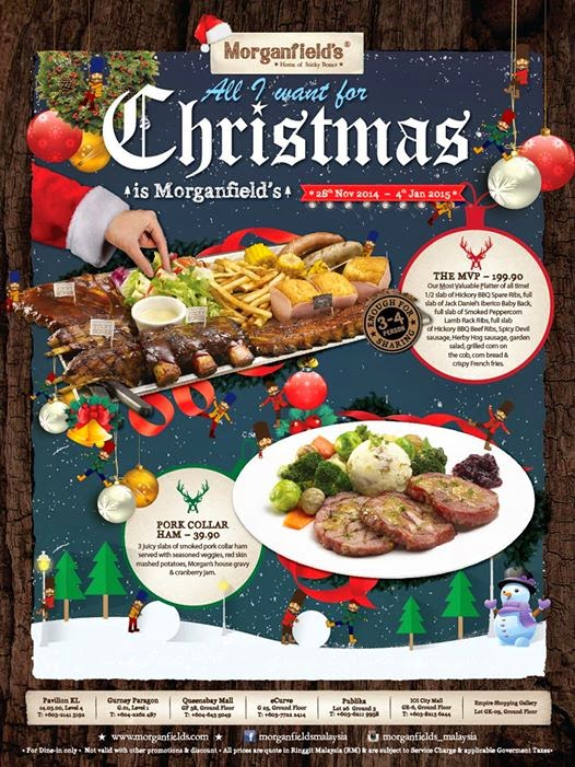 MORGANFIELDS CHRISTMAS PROMOTION Malaysian Foodie