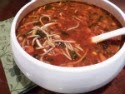 Minestrone Soup with High Fiber Pasta