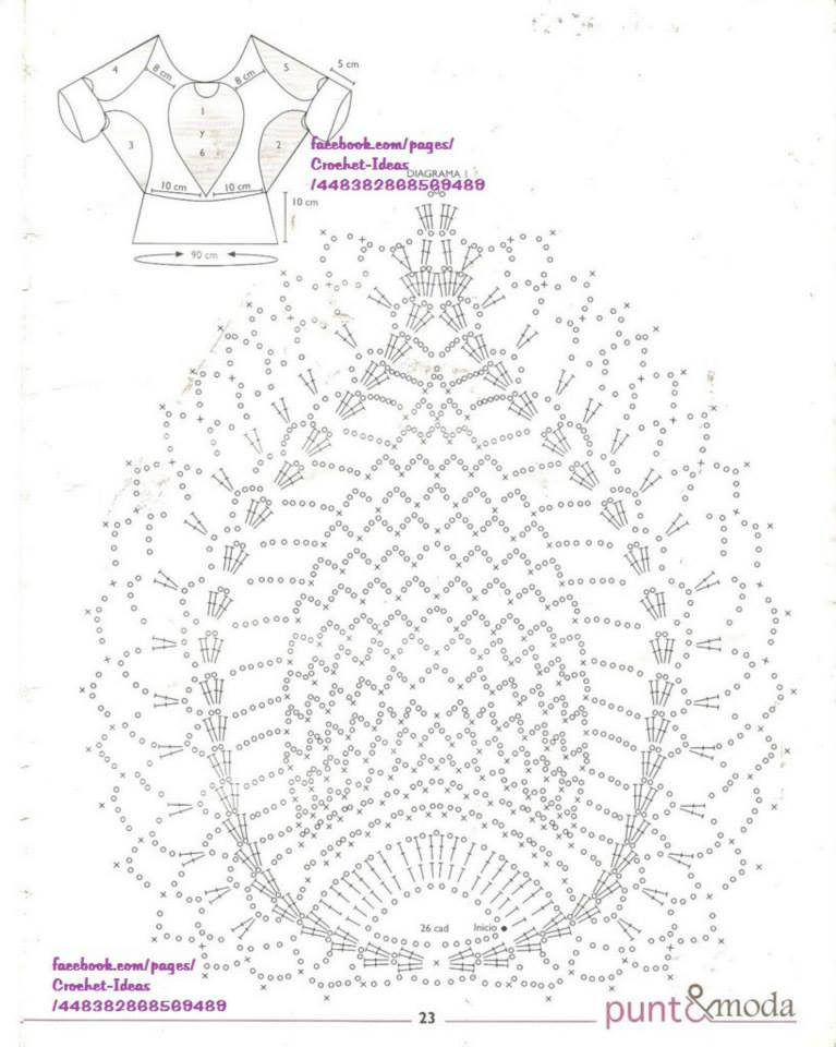... on 30th December 2008 Leave a comment on Lace Crochet Blouse Pattern