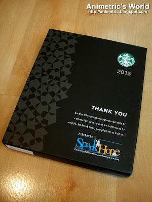 2013 Starbucks Planner Philippines