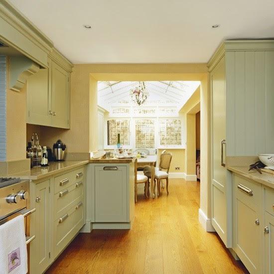 cantiknya desain dapur modern ala rumah sederhana rumah