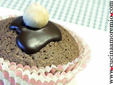 tortine di cioccolato e nocciole