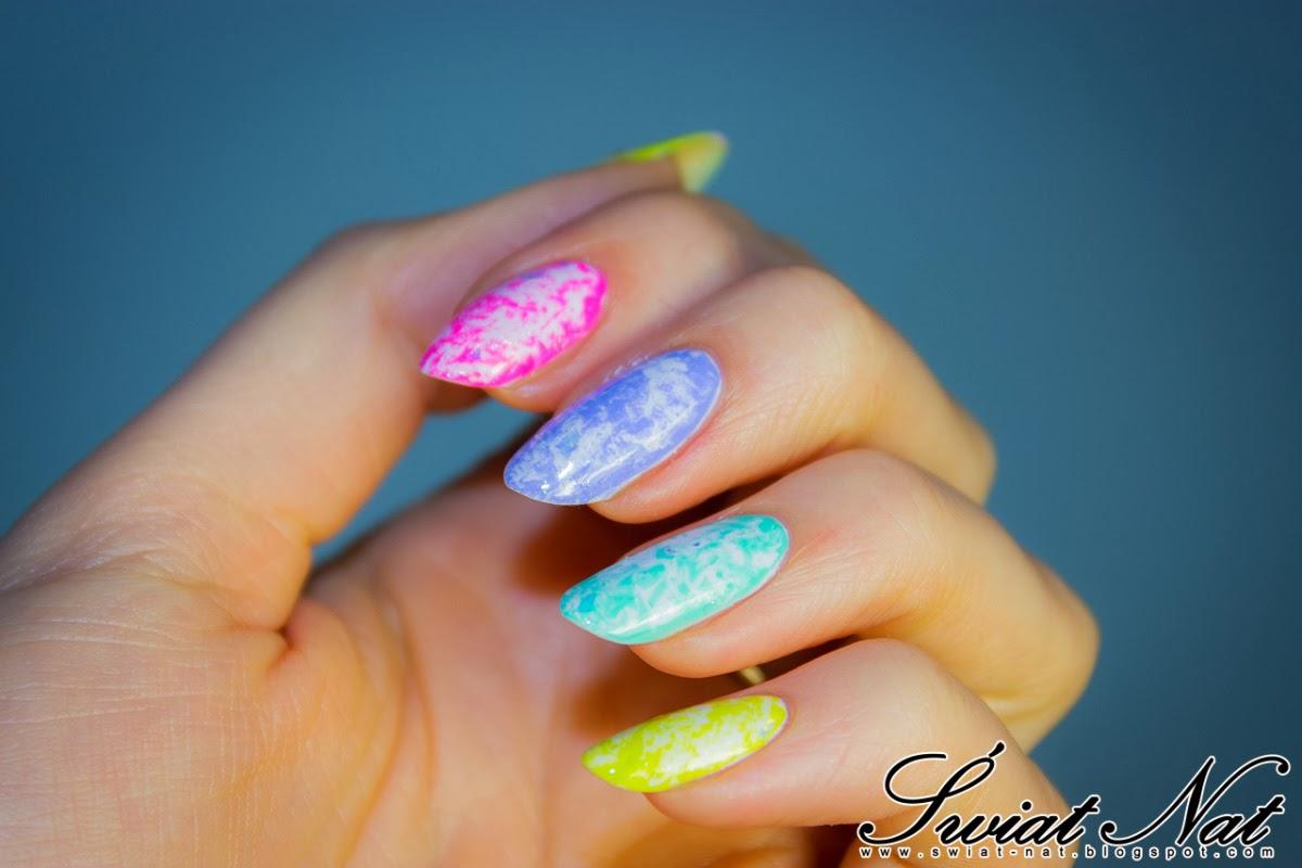 paznokcie mani manicure nails nailart blink lovely