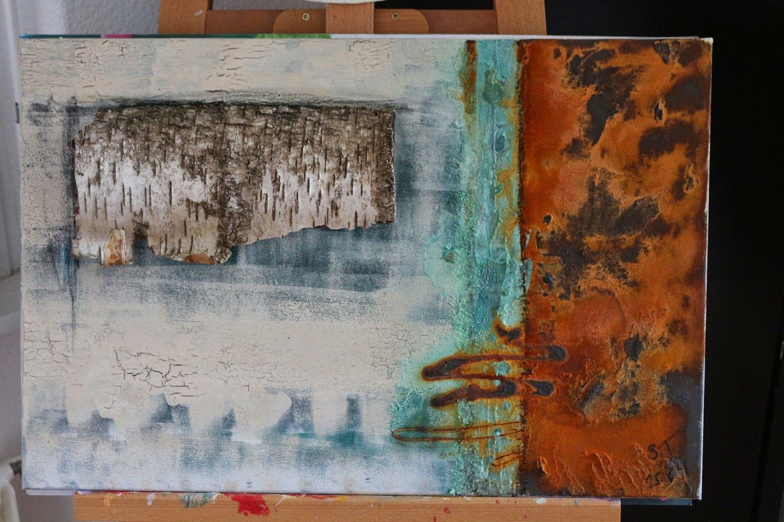 Patina Holz rost und patina kunst galerie rost und patina