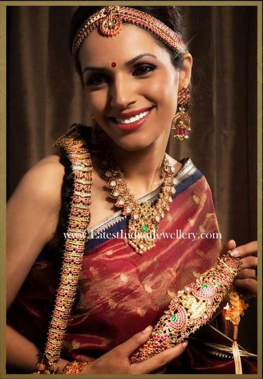 Heritage Ruby Bridal Jewellery