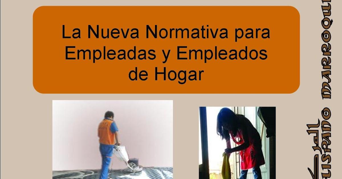 Derecho de las empleadas de hogar centro hispano marroqu Baja empleada de hogar
