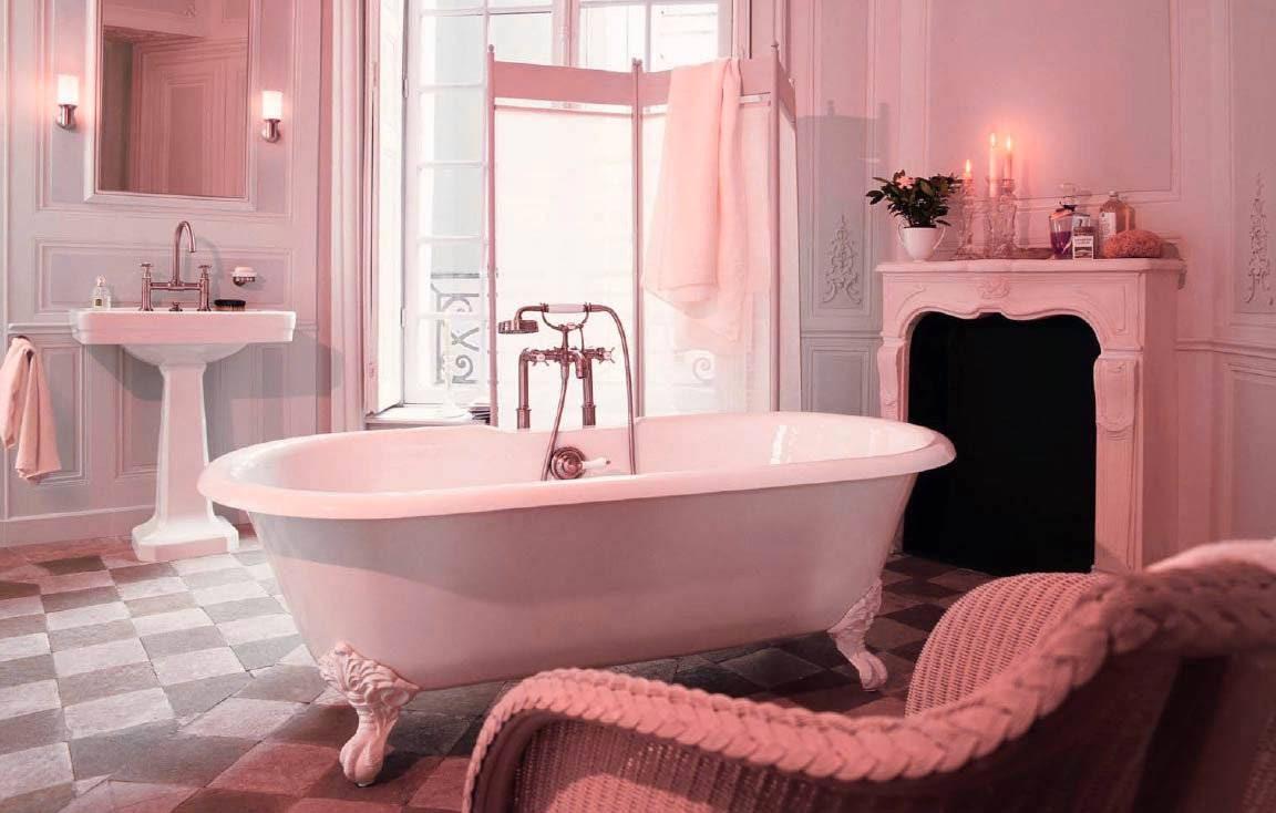Tinas De Baño Viejas:Decoración de baños estilo vintage