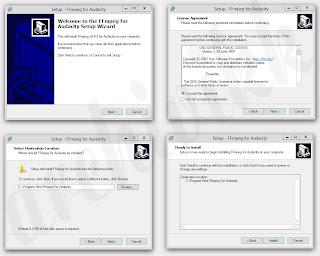 Добавление библиотеки FFmpeg для Audacity