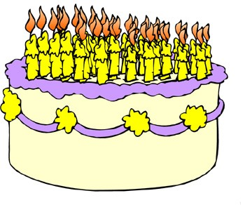Funny Picture Clip: Funny Birthday Quotes on a Birthday Cake ...