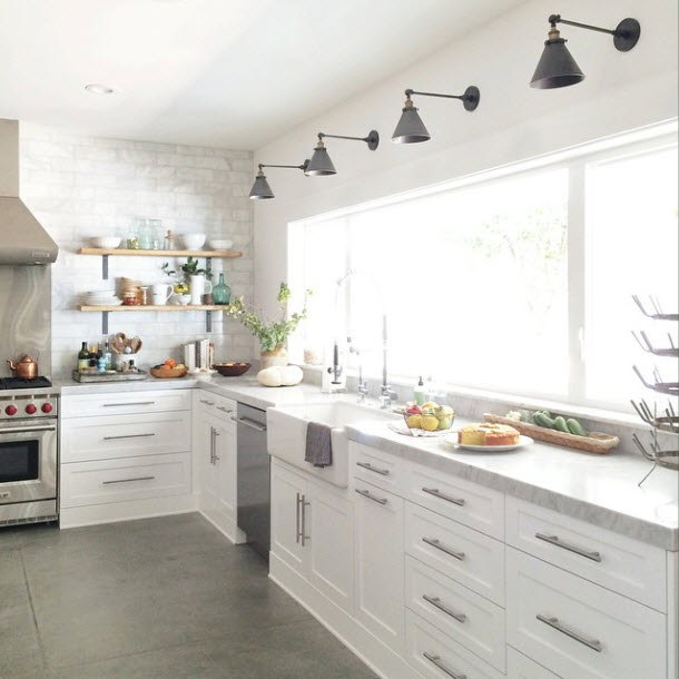 swing arm lamps kitchen