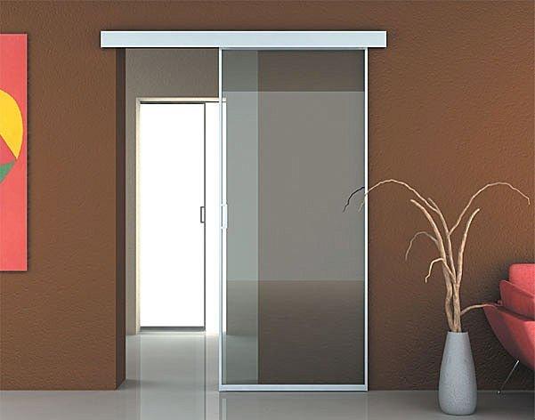 Puertas correderas de cristal cocinas modernass for Vidrios decorados para puertas interiores