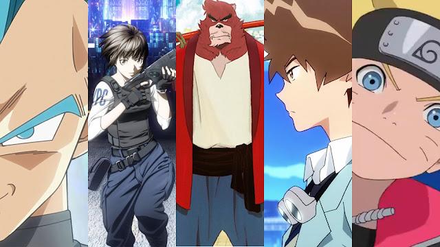 Dez filmes anime de 2015