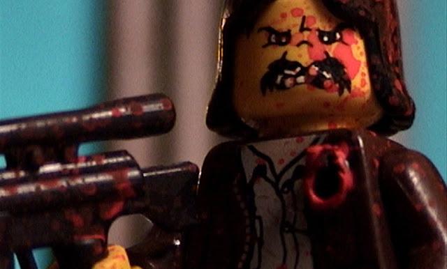 Machete in Lego por GIGERBRICK