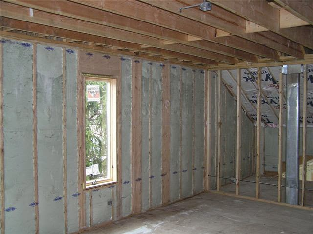 My chemical free house zero voc insulation for New home insulation