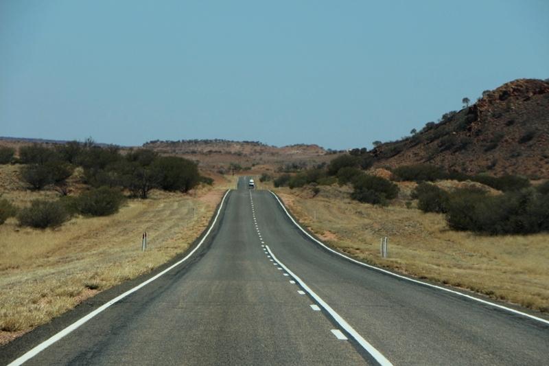 Ergens tussen Alice en Uluru