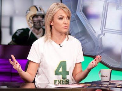 體壇美女 體育記者:貝蒂(Michelle Beadle)