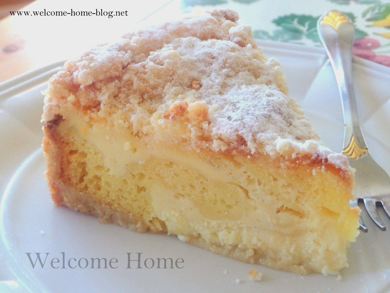 Welcome Home Blog: ♥ Lemon Cream Cake