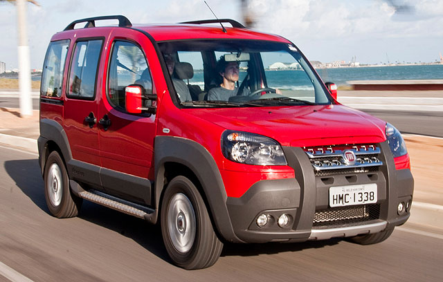 All About Cars Fiat Doblo Adventure