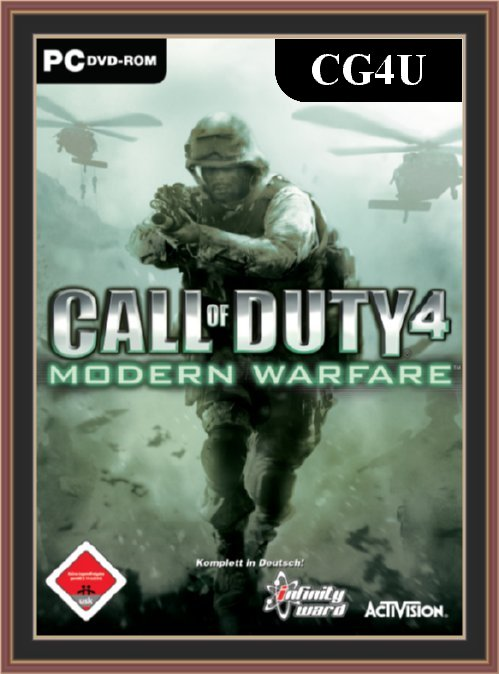 Call Of Duty 4 - Modern Warfare Cover | Call Of Duty 4 - Modern Warfare Poster