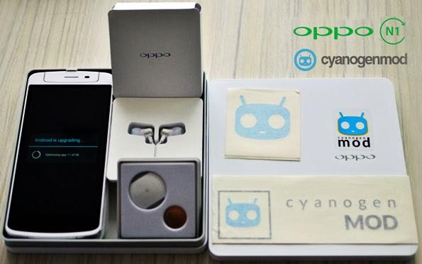 Smartphone OPPO N1 CyanogenMod Edition