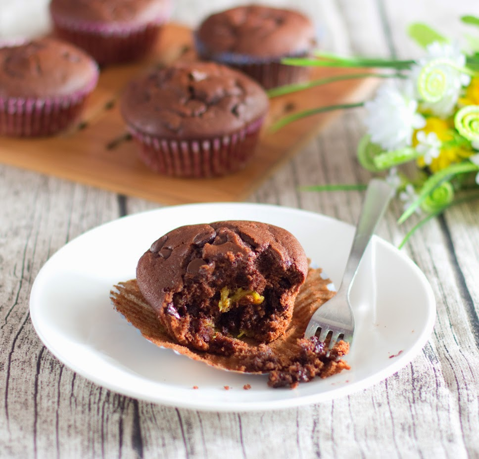 Durian Chocolate Muffin