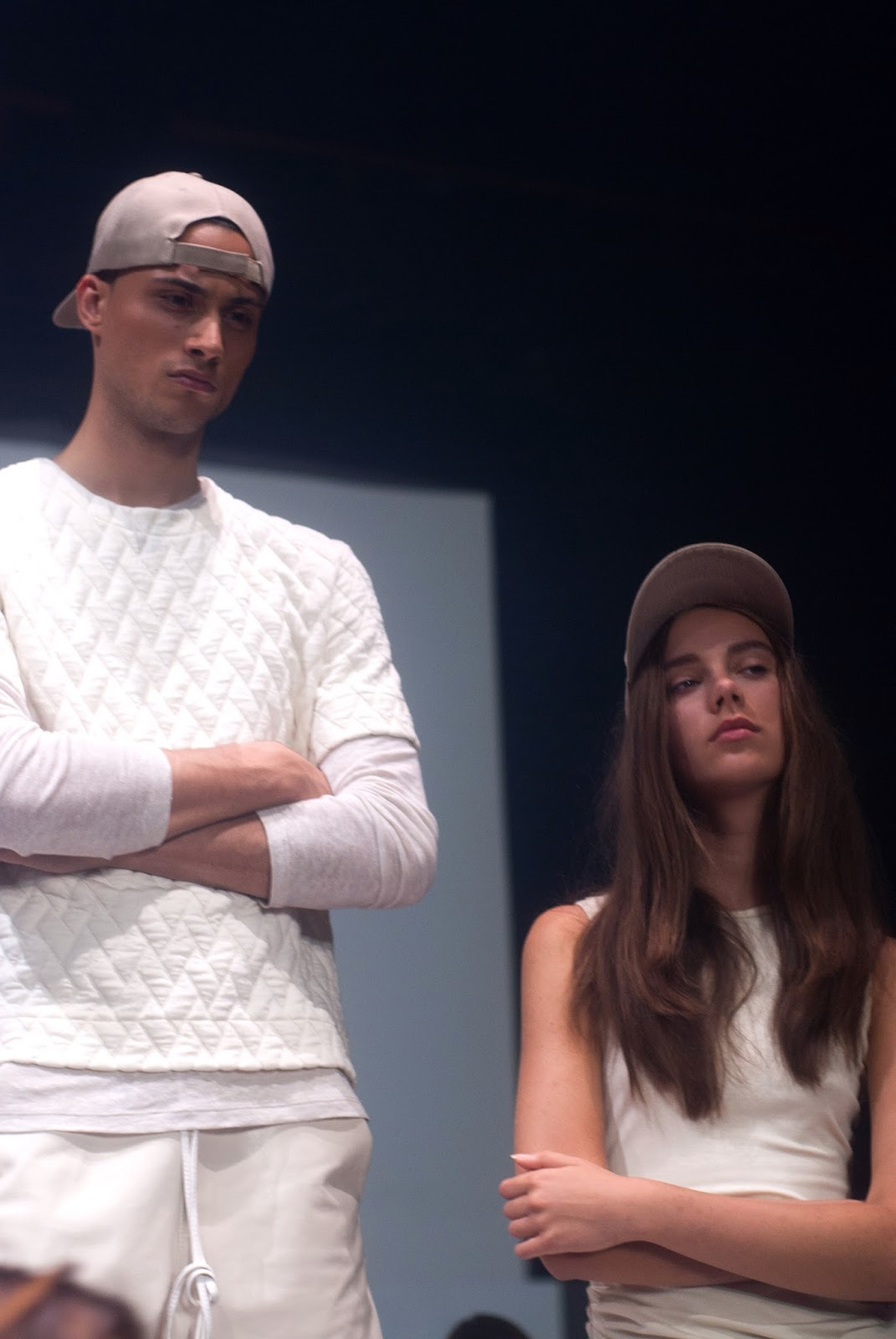 travis taddeo montreal fashion week fashion installation