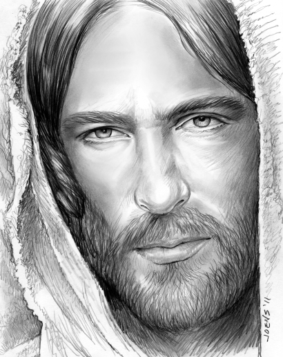 Sketch of the Day: Jesus