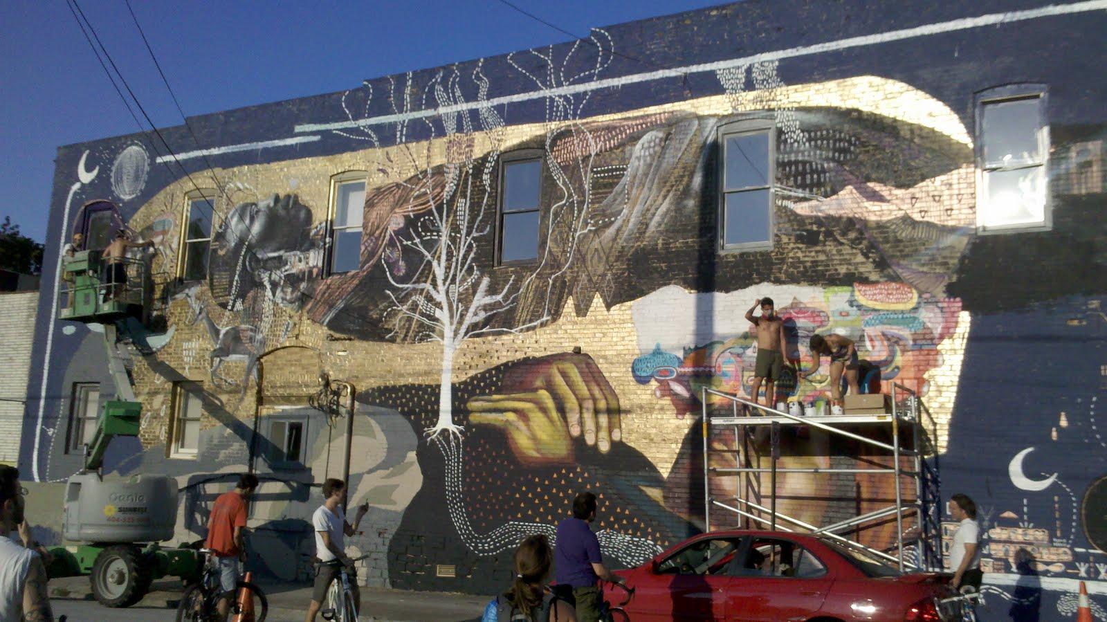 Living Walls 2011 Breaths New Life Into Atlanta