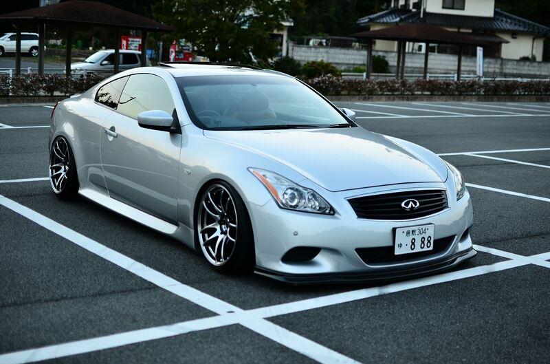 Infiniti G37 Coupe, piękne coupe, ciekawy design, CV36, Nissan Skyline, JDM, japoński sportowy samochód, RWD, napęd na tył, silnik V6