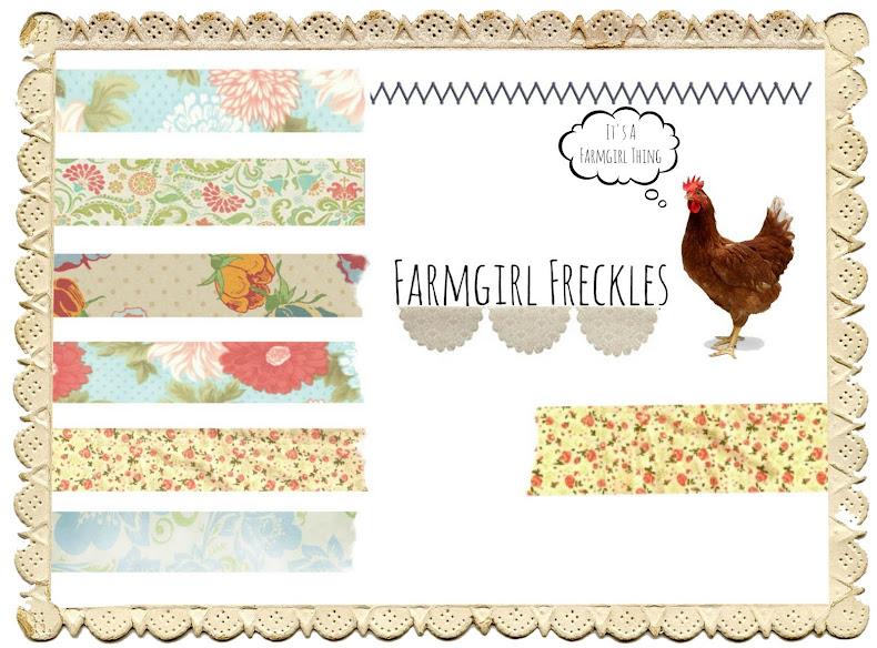 Farmgirl Freckles