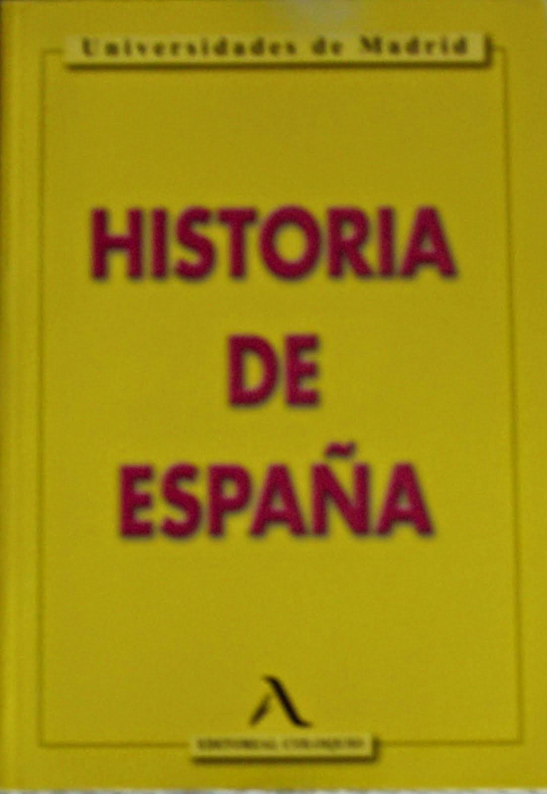 Obra del bloguero. Coautor. Libro de texto. Historia de España, 2011