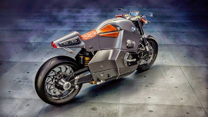 BMW Urban Concept Motorcycle Photos