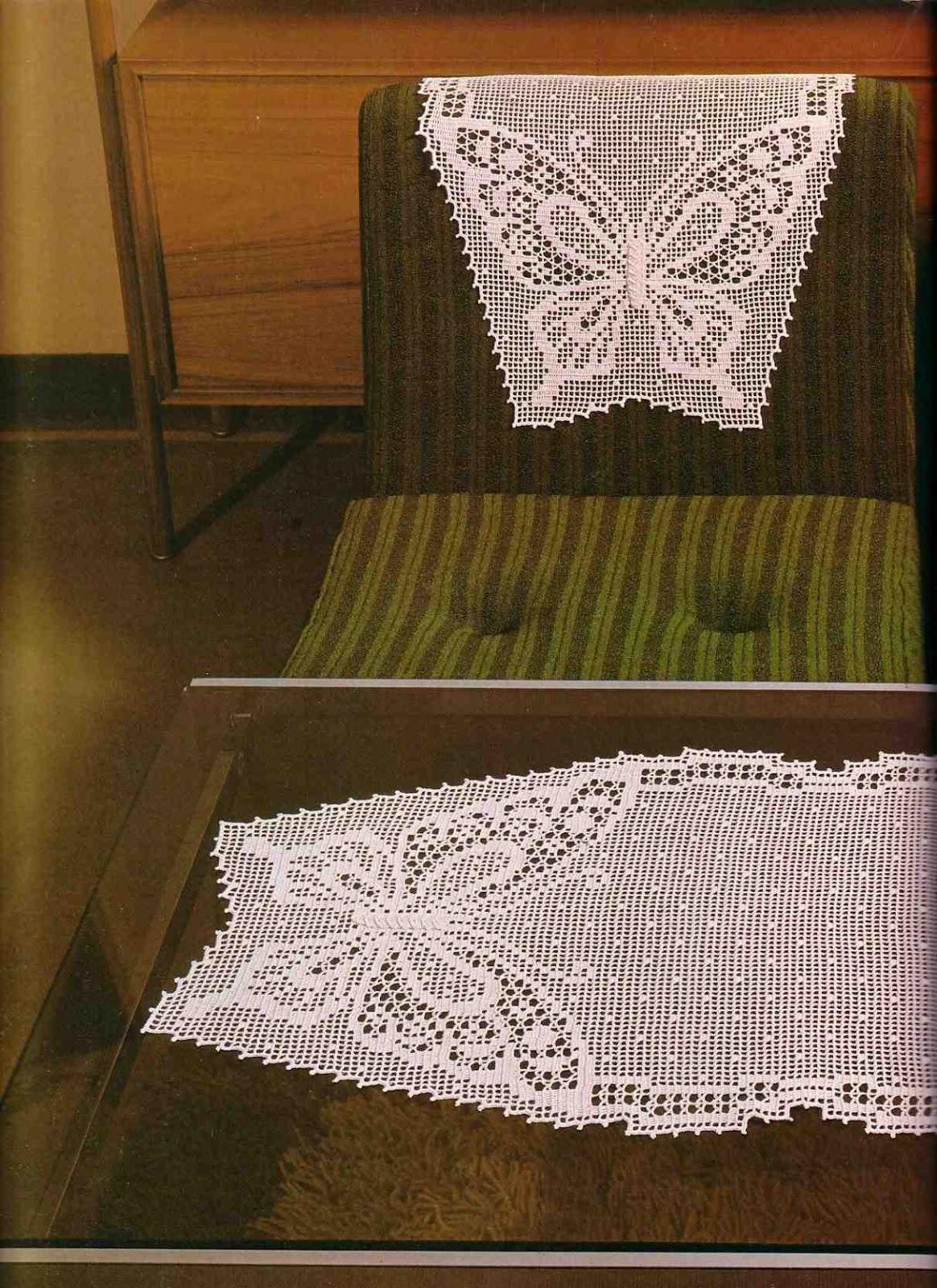 Free Crochet Chair Back Patterns