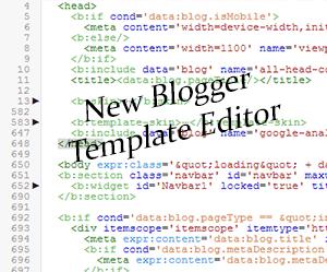 New+blogger+Template+Editor