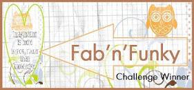 Zmagovalna voščilnica v Fab'n'Funky