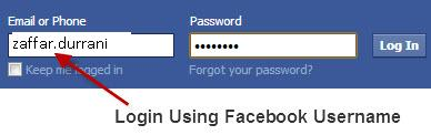 how to change username on facebook again
