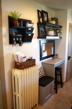 Studio Lime Design Home Improvements Kitchen Message Center