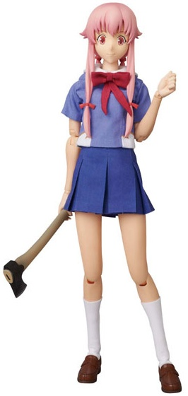 PVC Figure da Gasai Yuno do anime Mirai Nikki