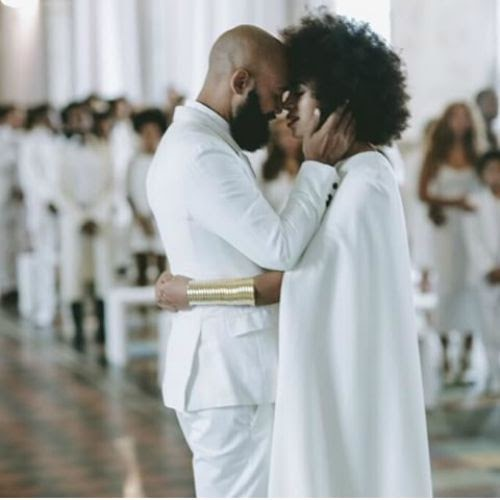 solange knowles wedding, solange+alan+ferguson, black love,
