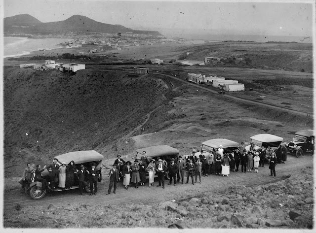 Imagen nº 11598 propiedad del archivo de fotografía histórica de La FEDAC/CABILDO DE GRAN CANARIA. Realizada en 1920.