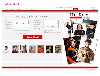 Uniformbuddies.net è il portale di incontri online per Persone in Uniforme!
