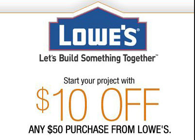 Lowes Home Improvement Coupons 2015
