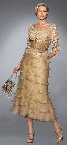 Fabulosos Vestidos de fiesta para señoras   Tendencias