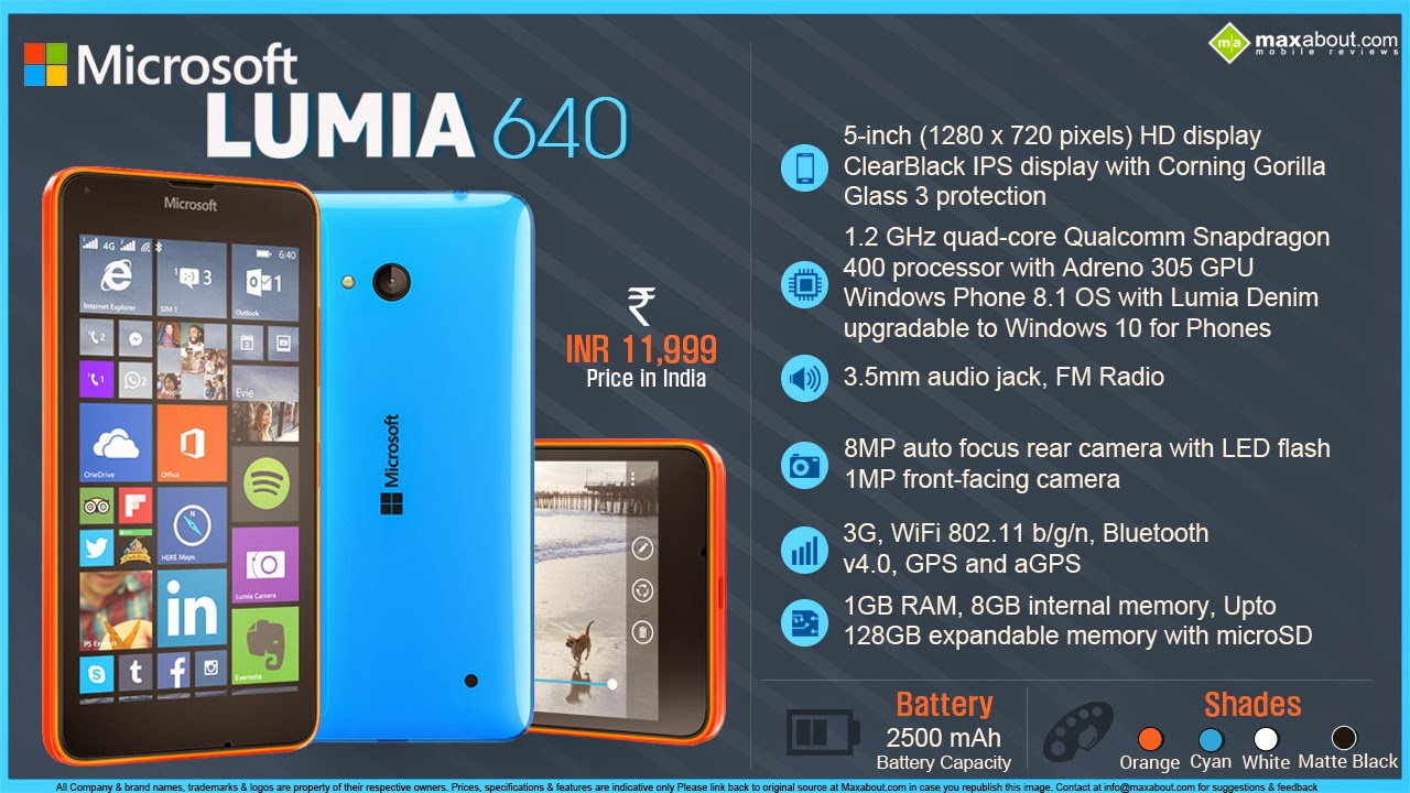 microsoft lumia 640 xl price in india get the