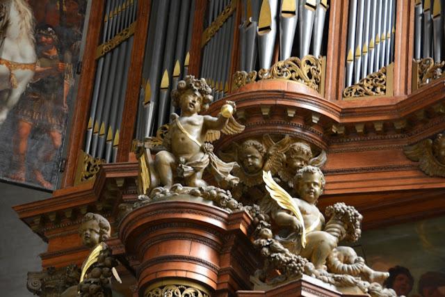 Nieuwe Kerk Middelburg engel