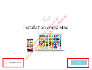 instalasi bluestacks 2 selesai