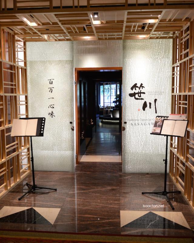Sasagawa Authentic Japanese Restaurant @ Sheraton Imperial Kuala Lumpur Hotel